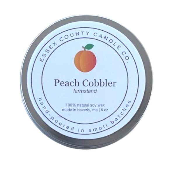 Peach Cobbler Candle