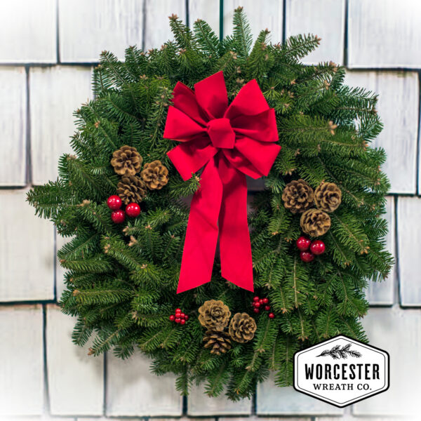 Classic 24 inch Christmas Wreath