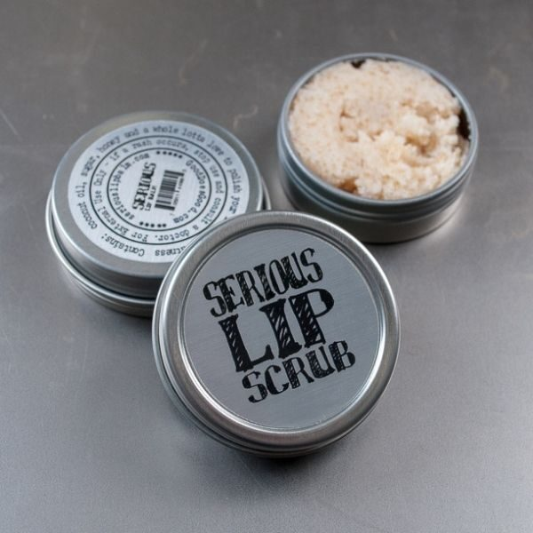 Serious Lip Scrub Tin